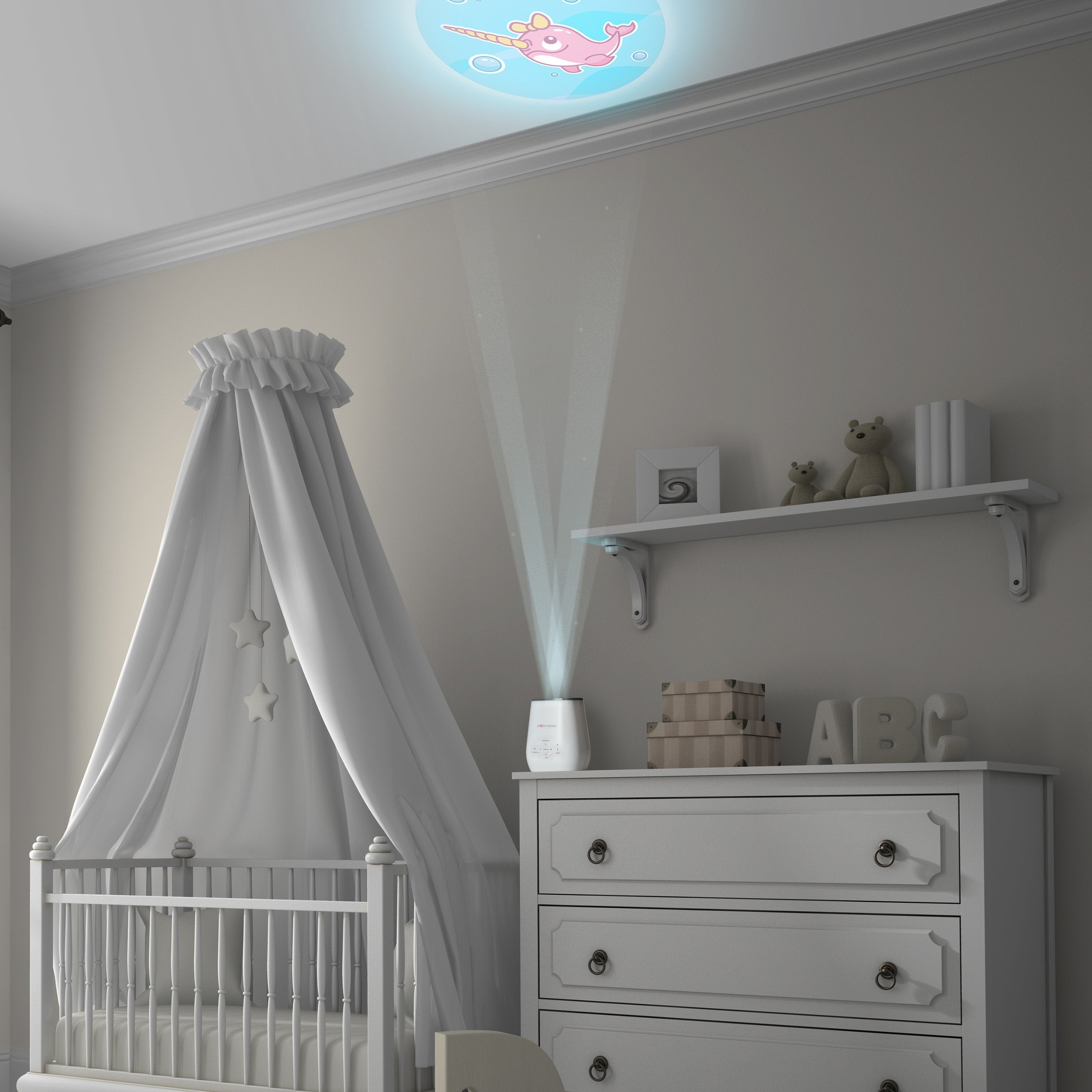 Project Nursery Soothing Projector Nightlight + Timer - Project Nursery