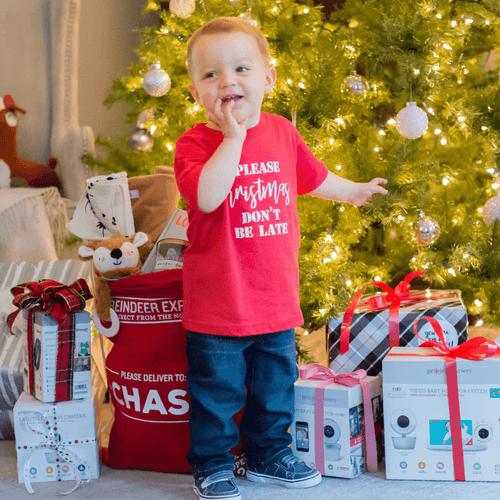 Please Christmas, Don't Be Late Toddler Tee - Project Nursery