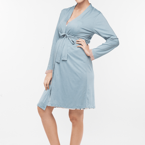 Plume Maternity + Nursing Robe - Project Nursery