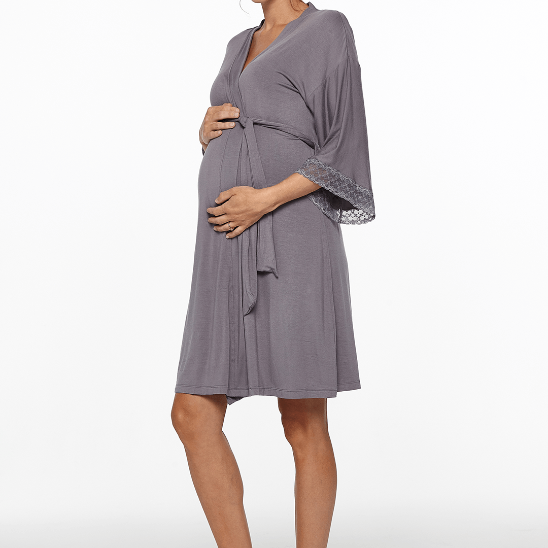 Maternity + Nursing Robe - Project Nursery