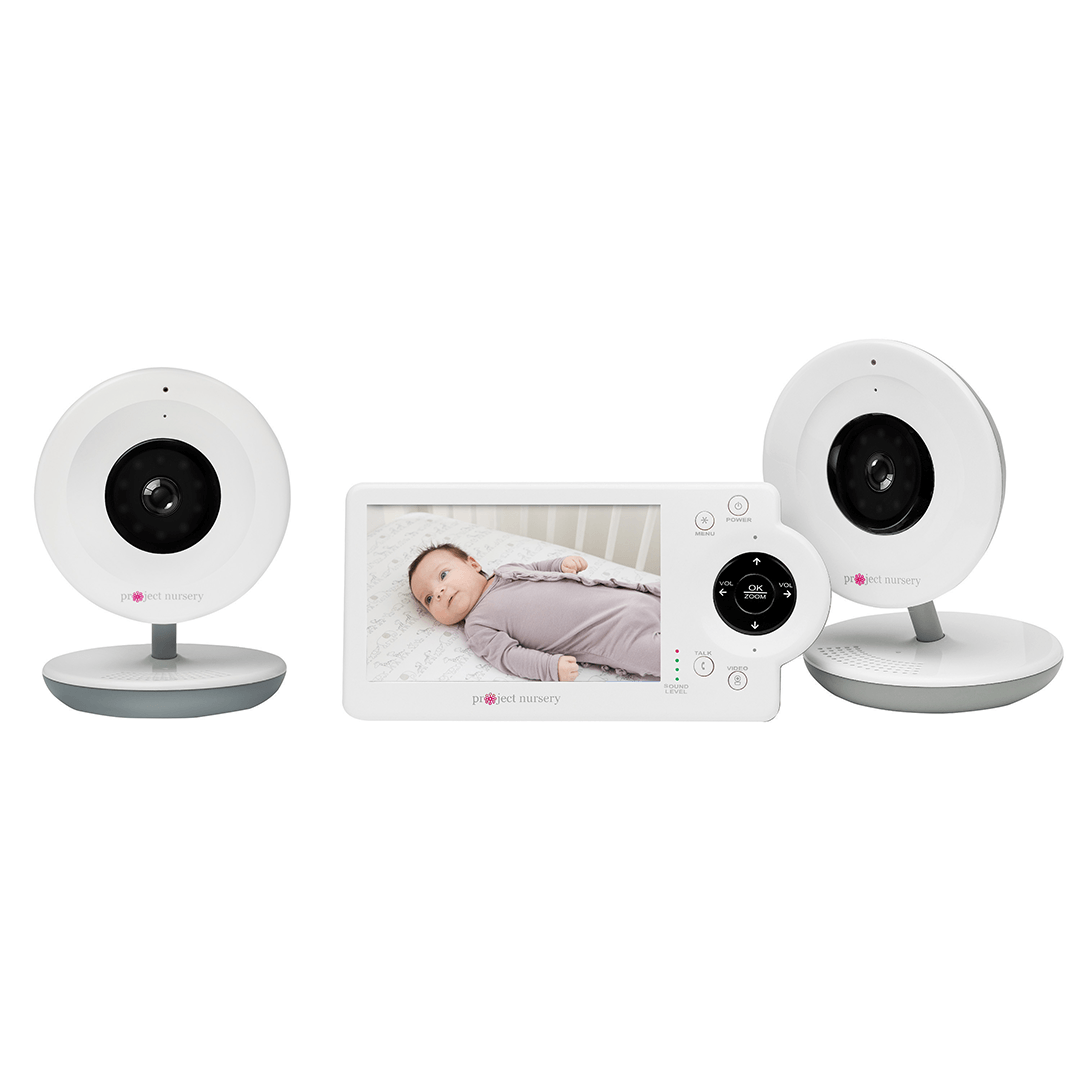"Project Nursery 4.3"" Baby Monitor System with 2 Digital Zoom Cameras - Project Nursery"