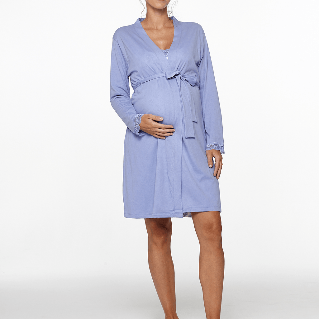 Violette Maternity + Nursing Robe - Project Nursery