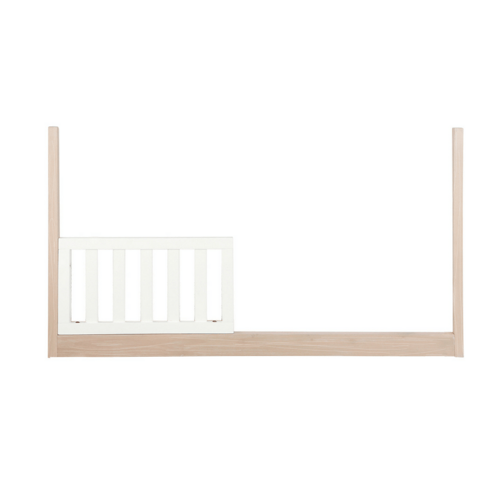 Project Nursery Wooster Toddler Conversion Rail in Almond + White - Project Nursery