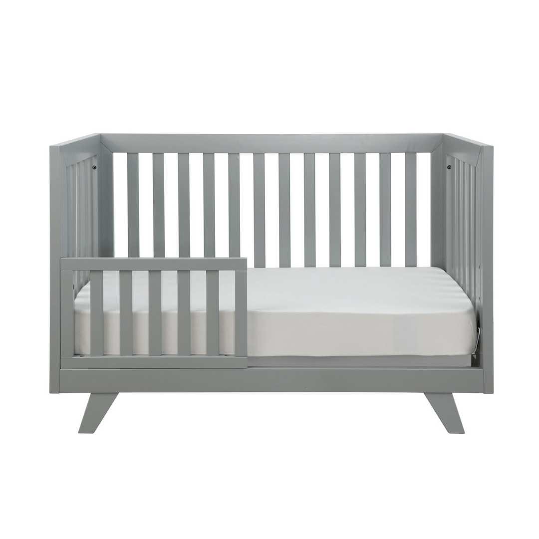 Project Nursery Wooster Toddler Conversion Rail in Moon Gray - Project Nursery