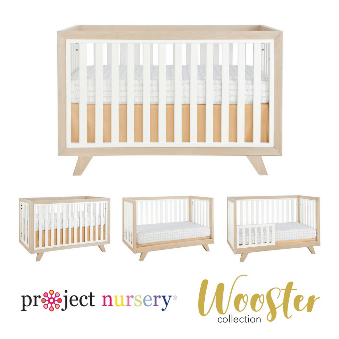 Project Nursery Wooster Crib in Moon Gray - Project Nursery