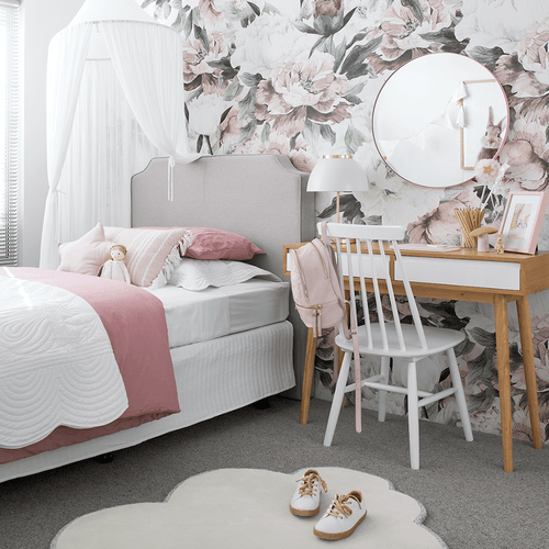 Queen Ann Self-Adhesive Wallpaper - Project Nursery