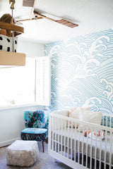 Bombora Wallpaper Mural - Project Nursery