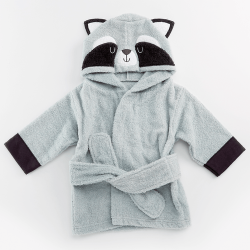Raccoon Hooded Spa Robe - Project Nursery