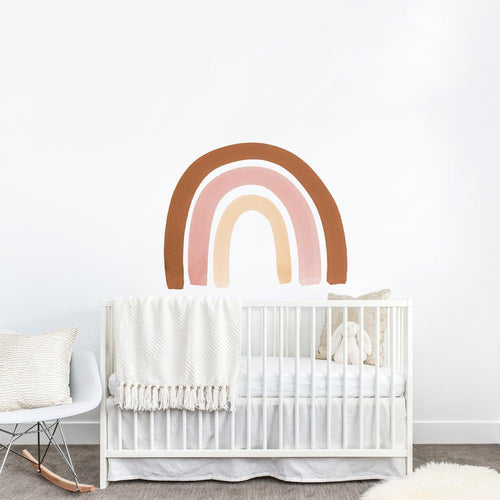 Rust + Pink Rainbow Decal - Project Nursery