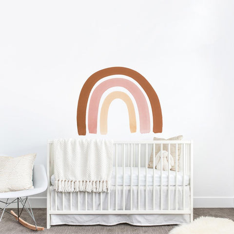 Watercolor Rainbow Wall Decals