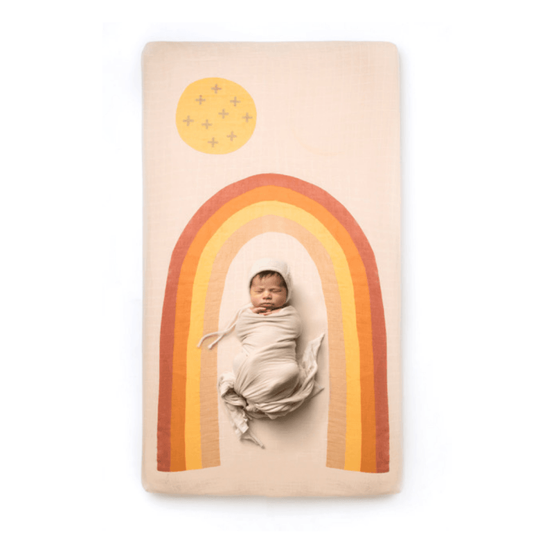 Rainbow Crib Sheet - Project Nursery
