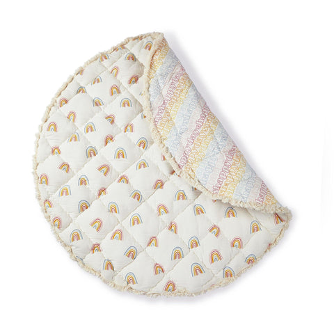 Bailey Bunny Knit Hat with Liberty Print