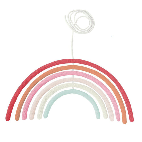 Rainbow Wall Hanging in Cherry Blossom - Project Nursery
