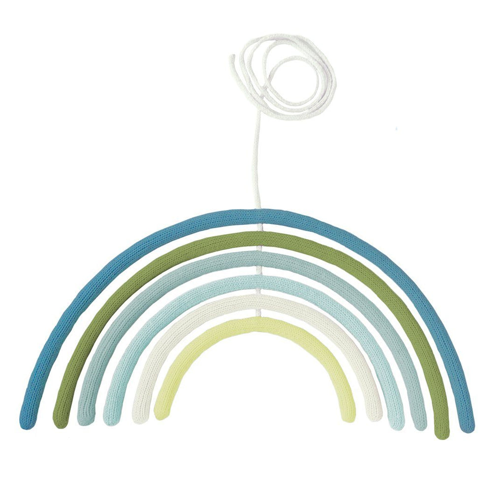 Rainbow Wall Hanging + Mobile - Woodland - Project Nursery