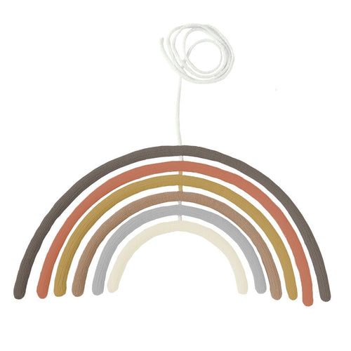Rainbow Wall Hanging in Adobe - Project Nursery