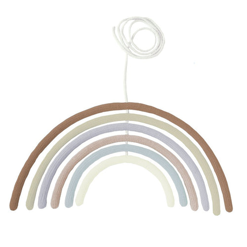 Rainbow Wall Hanging + Mobile - Tumbleweed - Project Nursery