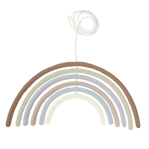 Rainbow Wall Hanging + Mobile - Adobe