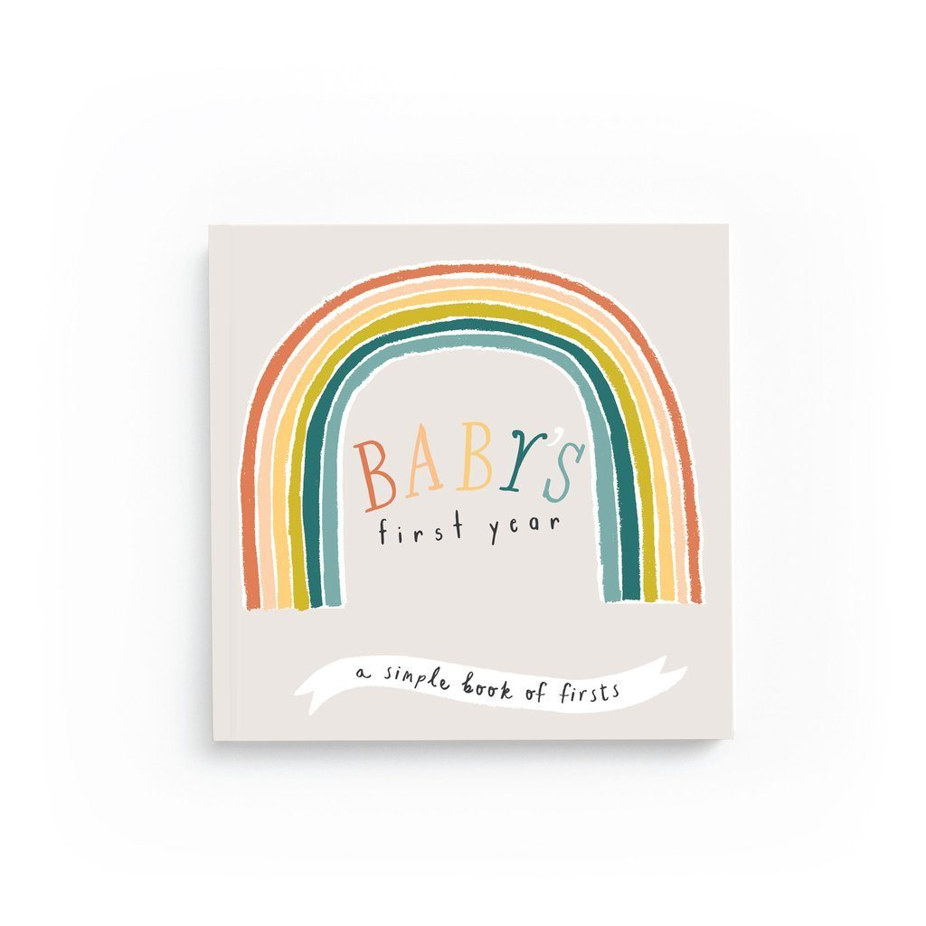 Little Rainbow Memory Book - Project Nursery