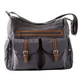 Rambler Satchel Diaper Bag Gray - The Project Nursery Shop - 3