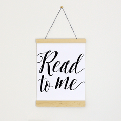 Read to Me Canvas Banner - Project Nursery