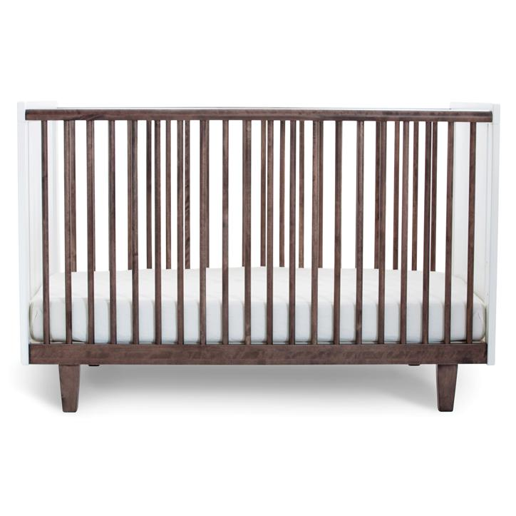 Rhea Crib in Walnut  - The Project Nursery Shop - 1