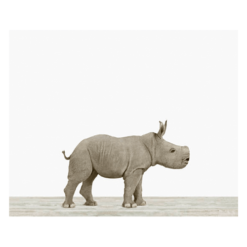 Baby Rhino Print - Project Nursery