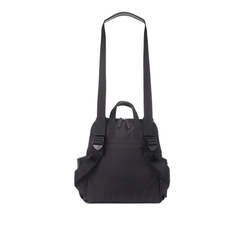 Robyn Faux Leather Diaper Bag - Black - Project Nursery