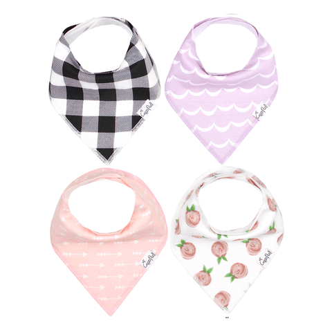 Woodland Bandana Bib Set