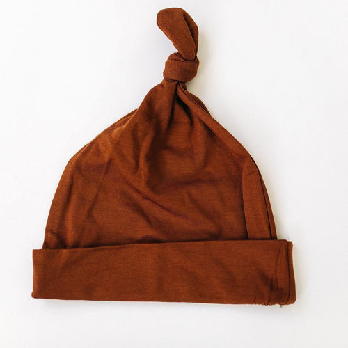 Rust Newborn Knot Hat - Project Nursery