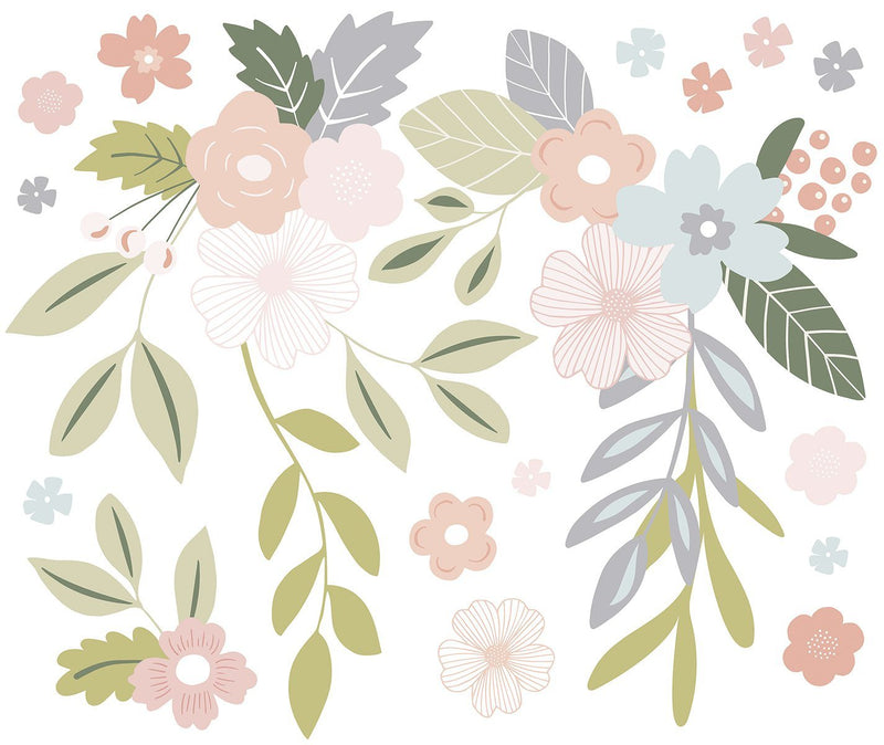 Flower Bunches Wall Stickers - Project Nursery