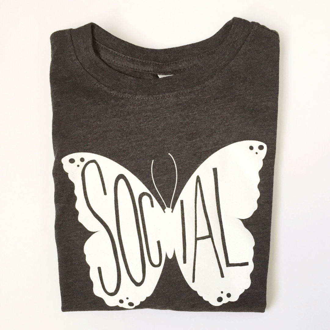 Social Butterfly Tee - Project Nursery