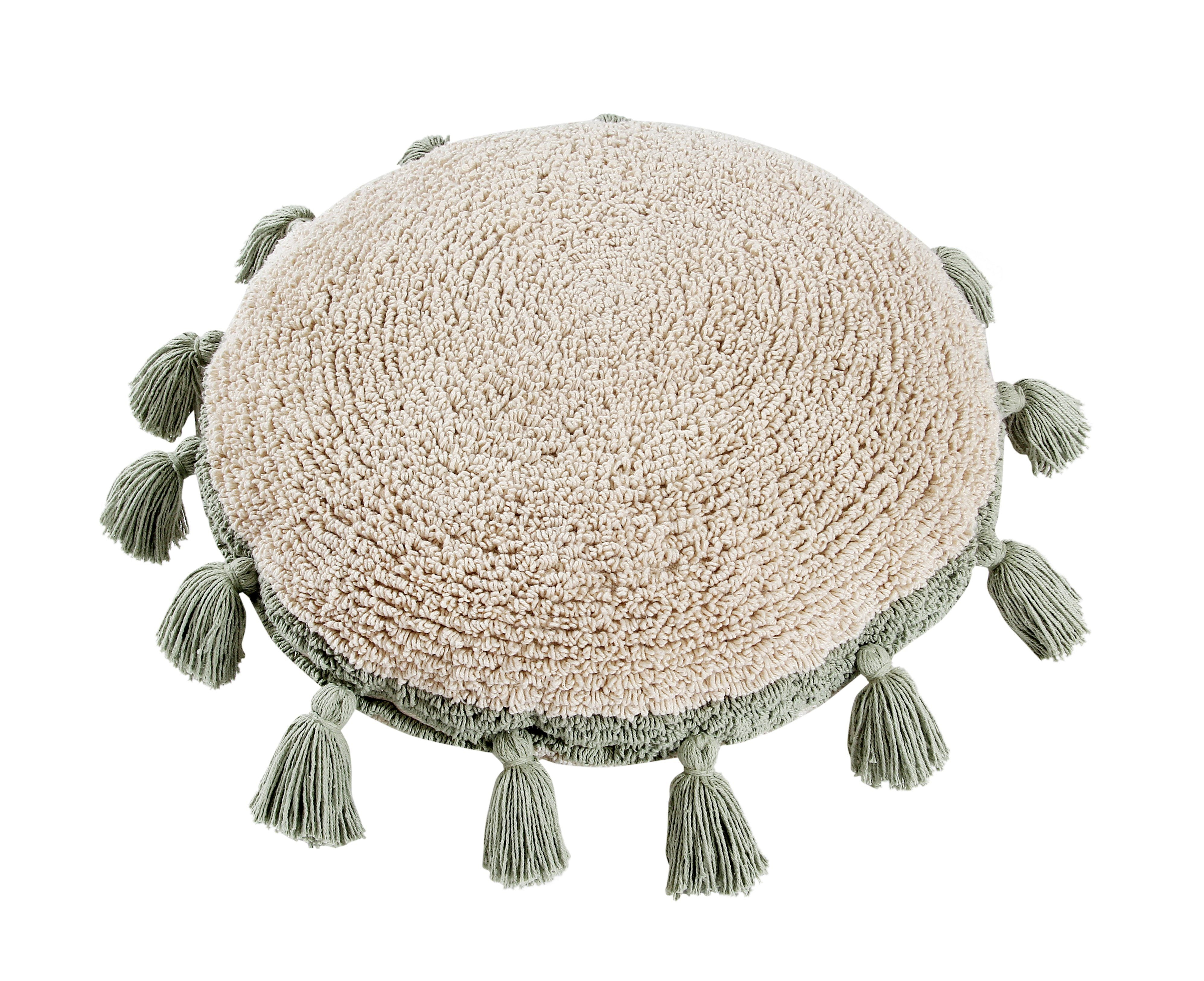 Circle Cushion - Green - Project Nursery