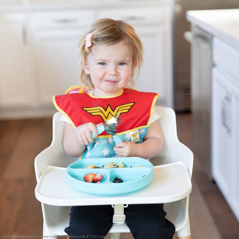 DC Comics SuperBib® with Cape - Wonder Woman - Project Nursery