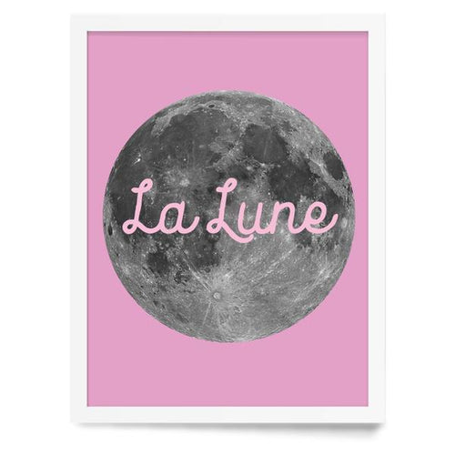 La Lune Moon Wall Print - Project Nursery