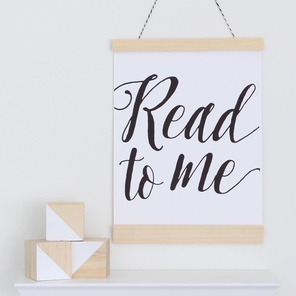 Read to Me Canvas Banner  - The Project Nursery Shop - 2
