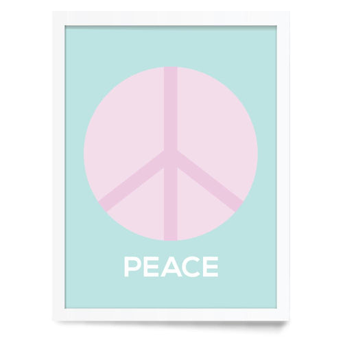 Peace Wall Print - Project Nursery