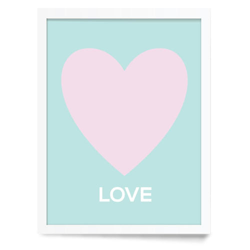 Heart Symbol Love Wall Print - Project Nursery