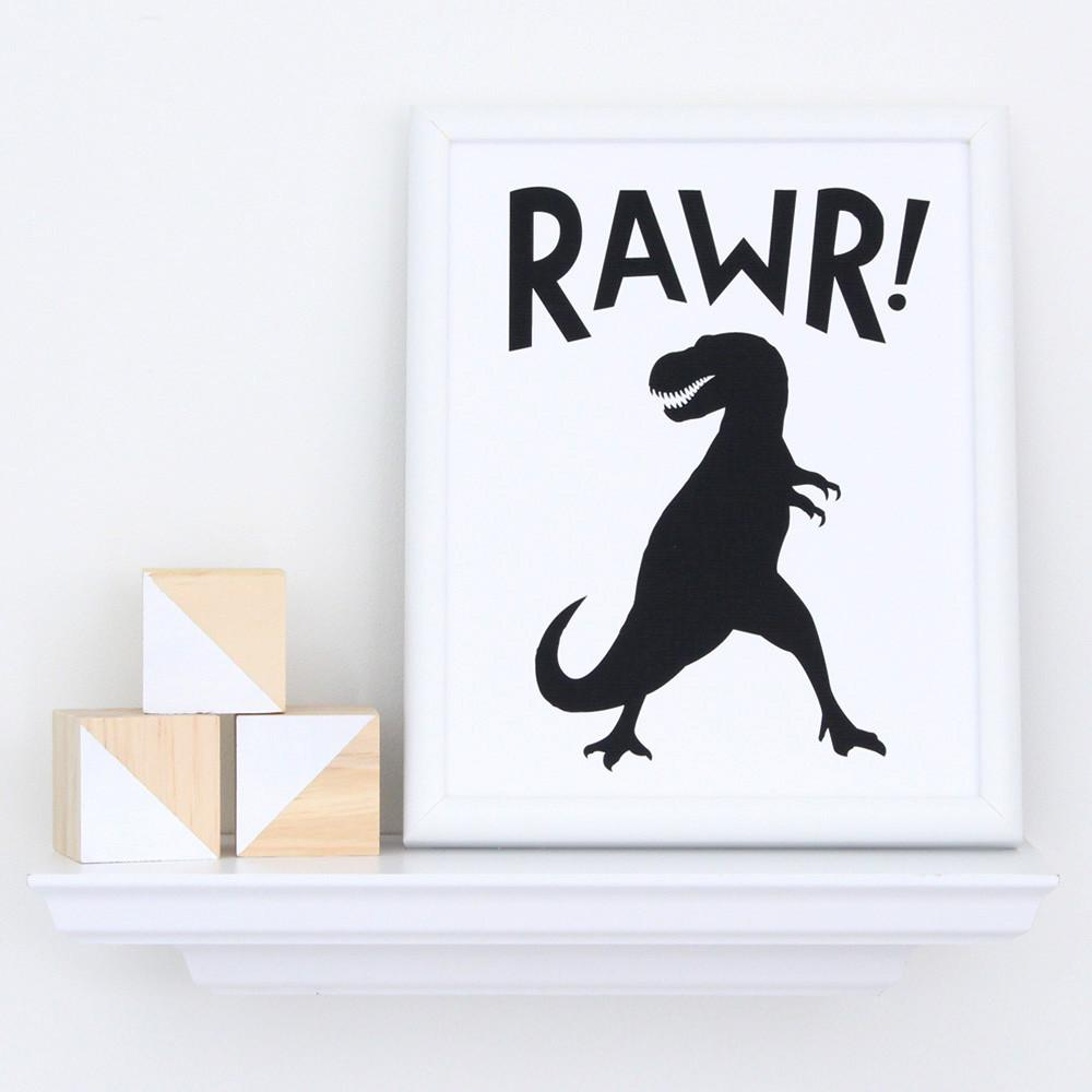 Rawr! Art Print  - The Project Nursery Shop - 3