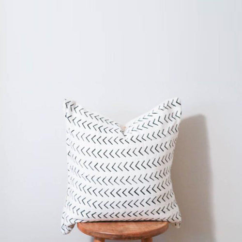 Mud Cloth Pillow Cover in Arrows - Project Nursery