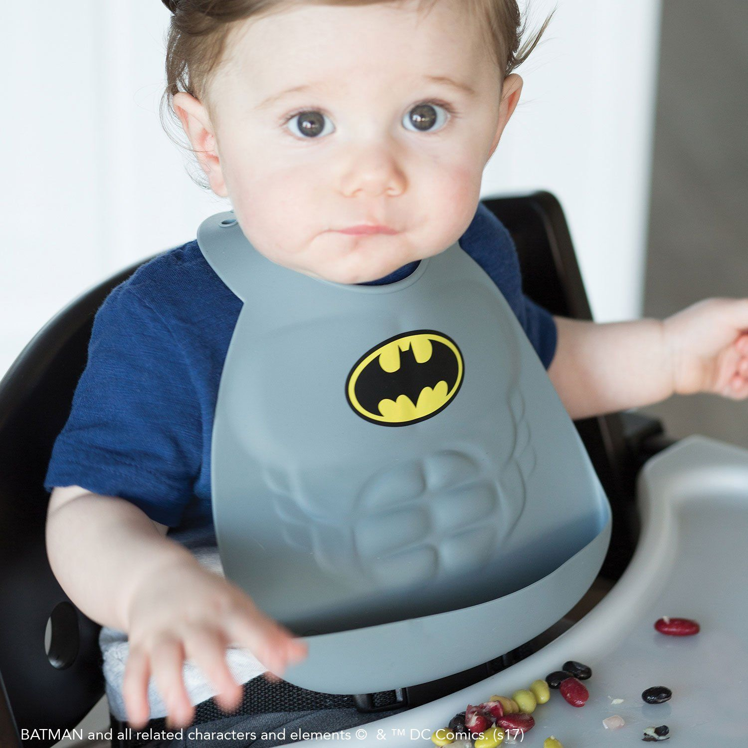 Batman Silicone Bib - Project Nursery