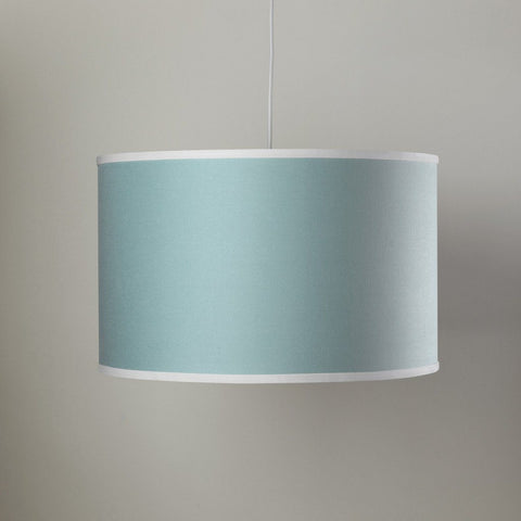 Harp Chandelier in Baby Blue