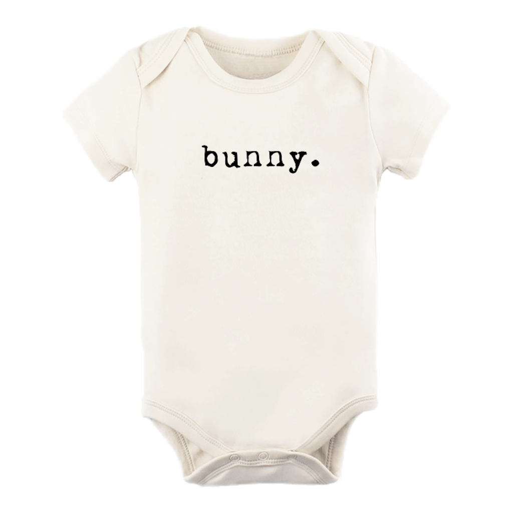 Bunny Shortsleeve Organic Bodysuit - Project Nursery