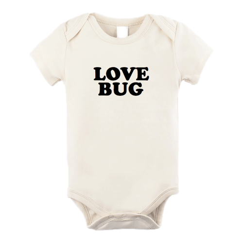 Love Bug Organic Bodysuit - Project Nursery