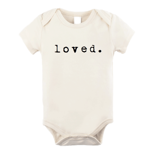 Loved Organic Bodysuit + Tee - Project Nursery