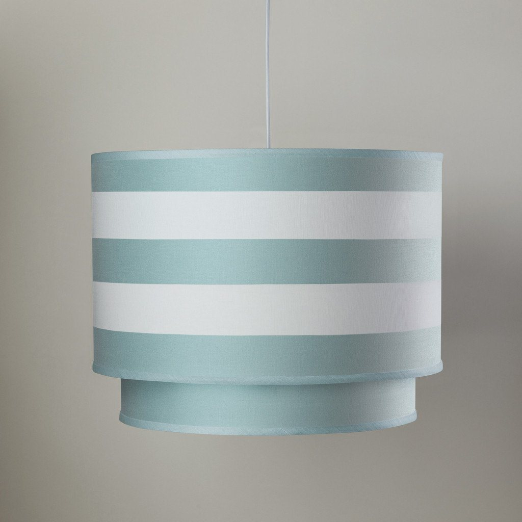 Stripe Double Cylinder Aqua - The Project Nursery Shop - 1