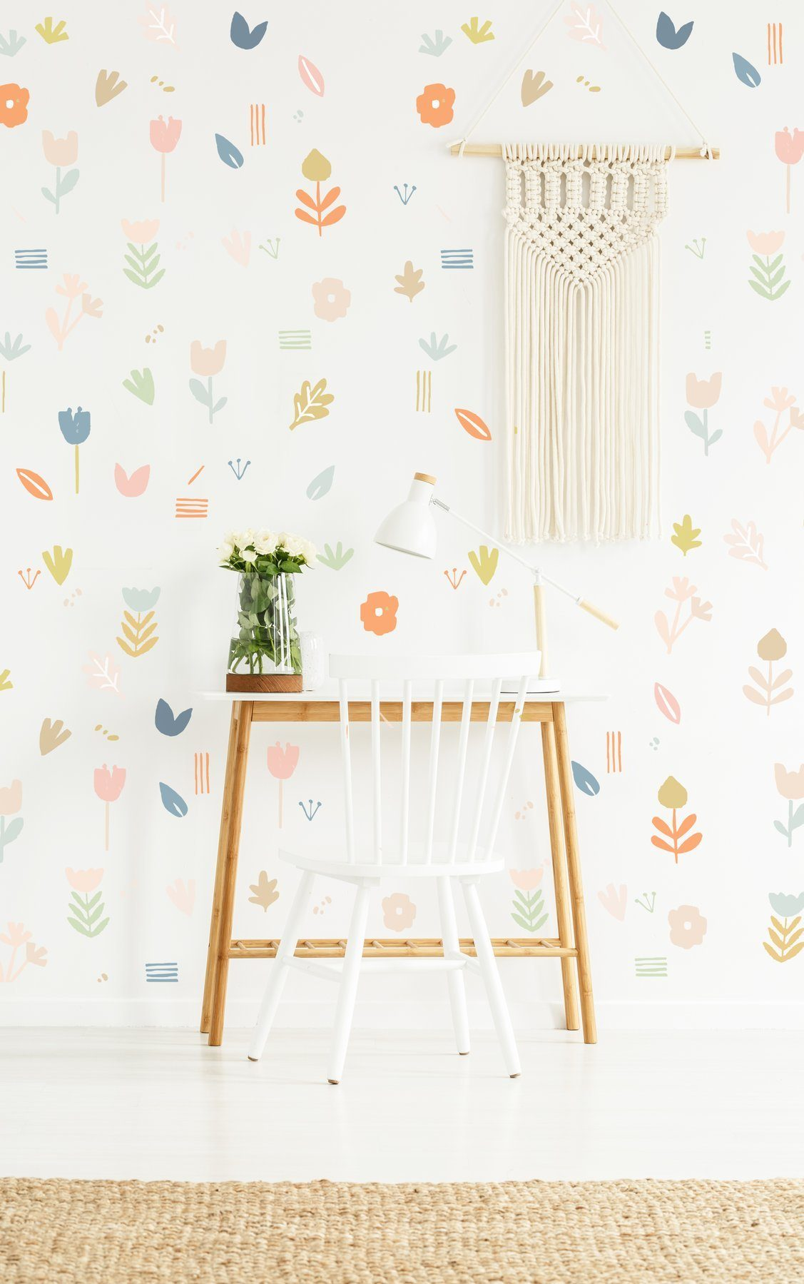 Sweet Flowers Wall Decal - Project Nursery