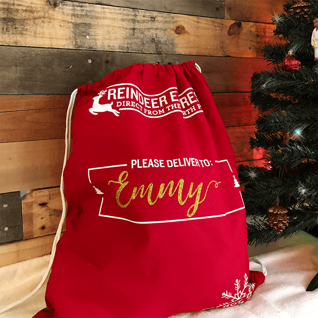 Personalized Santa Toy Bag - Project Nursery