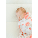 Just Peachy Bamboo Rayon Muslin - Project Nursery
