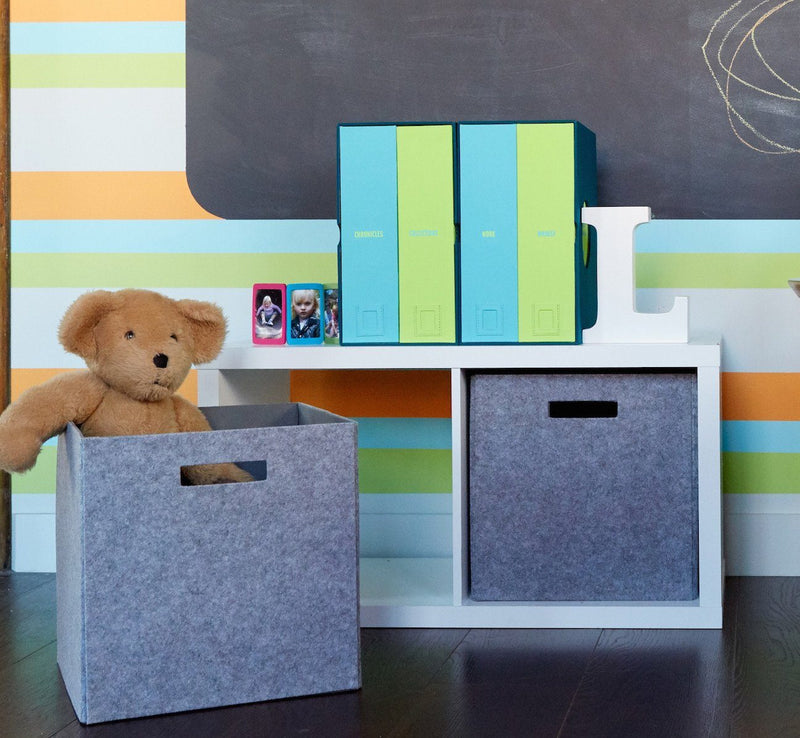 Starter Set: Baby and School Years Keepsake Boxes Bundle - Project Nursery