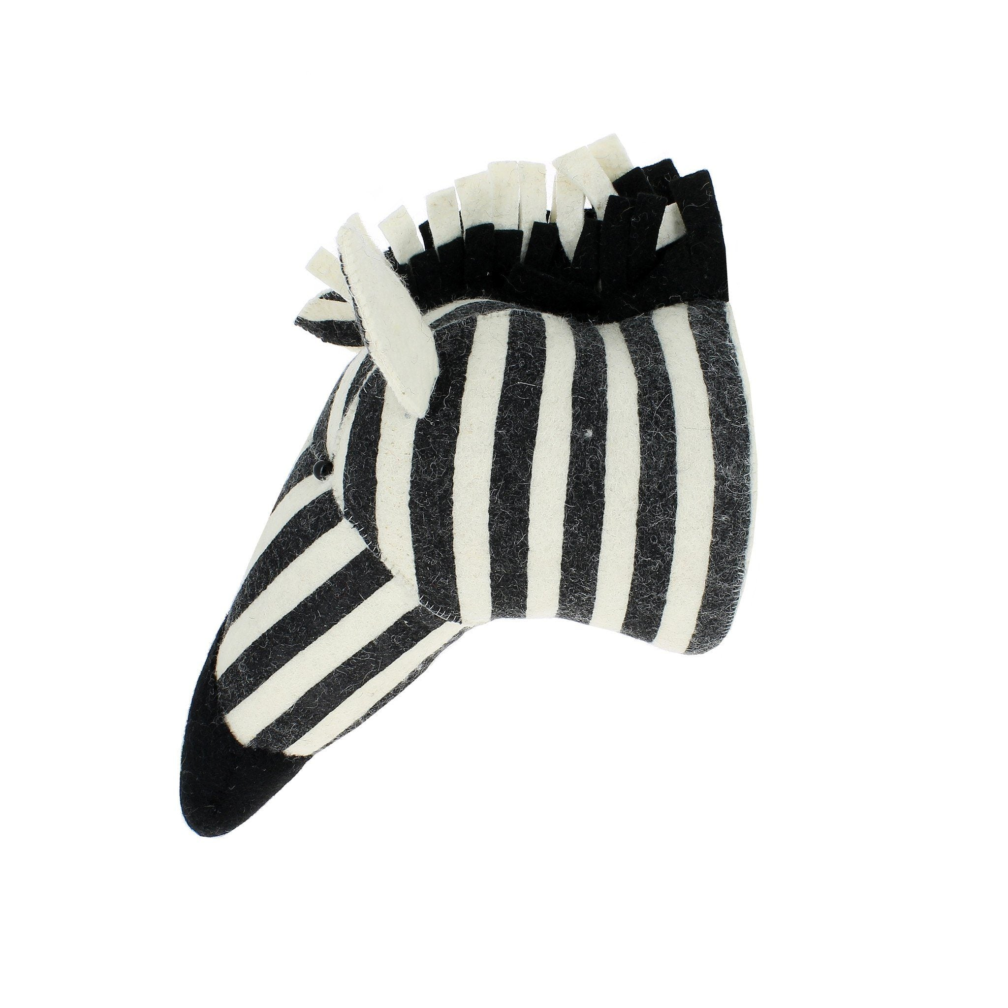 Striped Zebra Head - Project Nursery